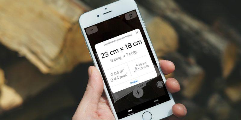 Aplicaciones para medir objetos