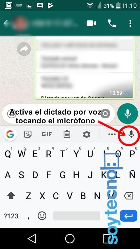 Teclado de Google