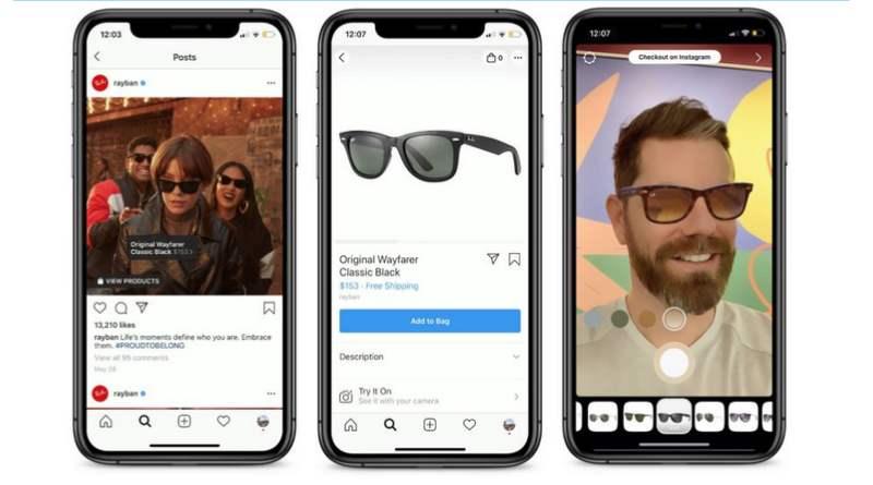 Realidad aumentada Instagram